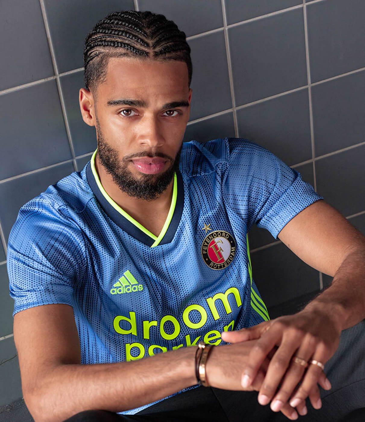 Camiseta suplente Adidas del Feyenoord 2019/20 | Imagen Web Oficial