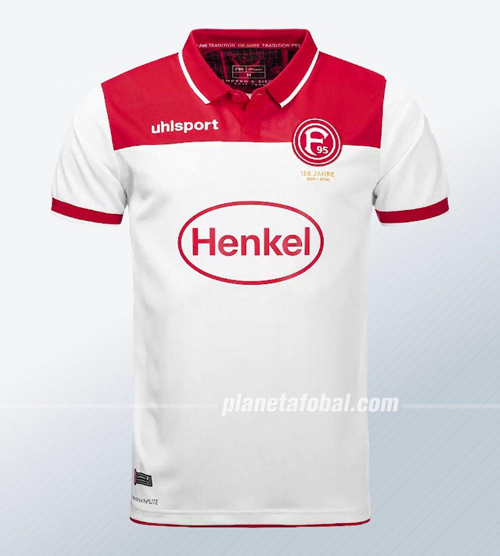 Camiseta titular uhlsport del Fortuna Düsseldorf 2019/20 | Imagen Web Oficial