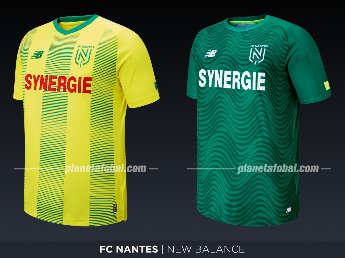 FC Nantes (New Balance) | Camisetas de la Ligue 1 2019-2020