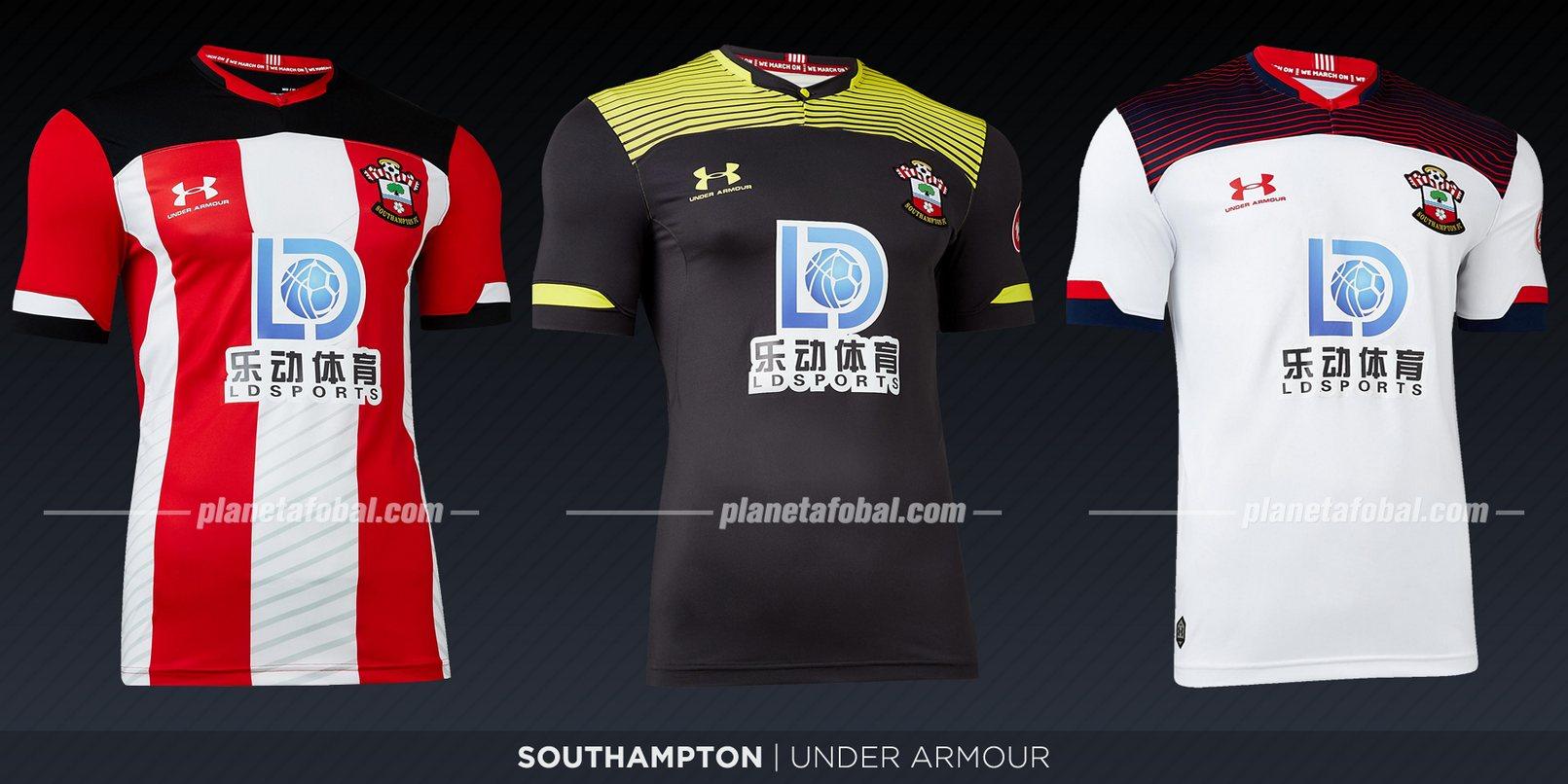 Southampton (Under Armour) | Camisetas de la Premier League 2019-2020