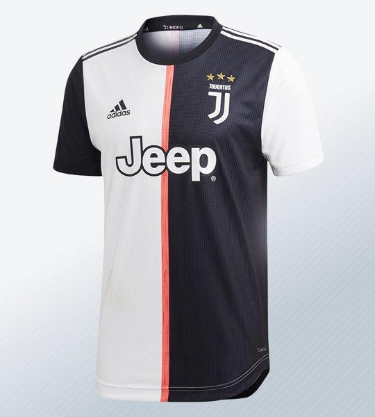 Camiseta titular de la Juventus 2019/2020 | Imagen Adidas