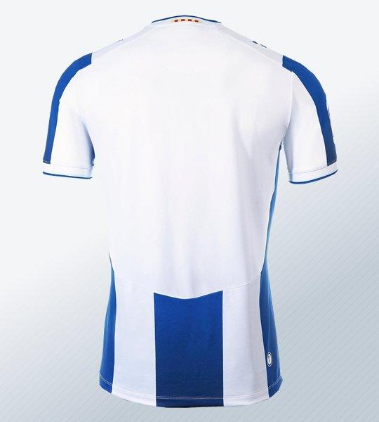 Camiseta titular Kelme del RCD Espanyol 2019/20 | Imagen Web Oficial