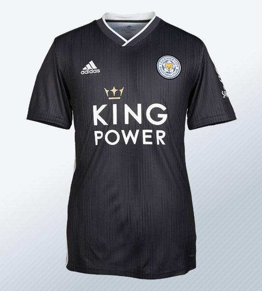 Camiseta Adidas gris del Leicester City 2019/2020 | Imagen Web Oficial