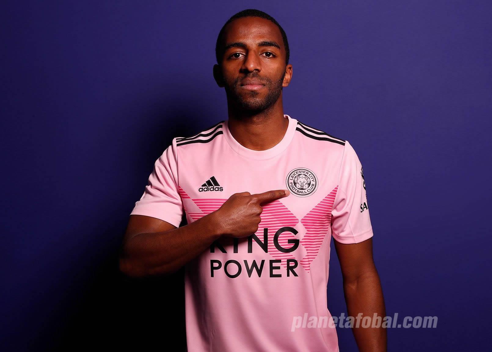 Camiseta Adidas rosa del Leicester City 2019/2020 | Imagen Web Oficial