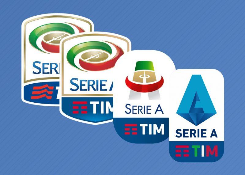 La evolución del logo de la Serie A de Italia (2010-2019) | @planetafobal