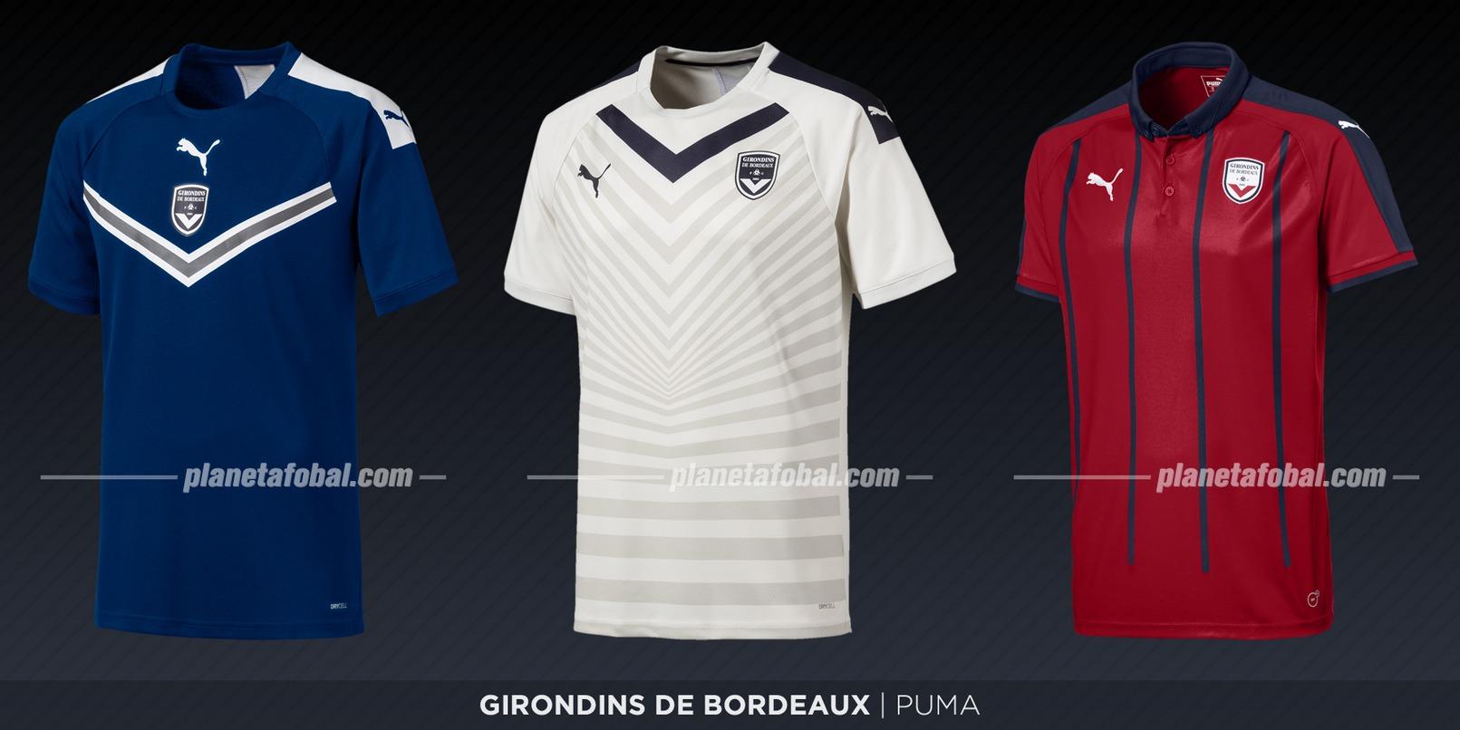 Girondins de Bordeaux (Puma) | Camisetas de la Ligue 1 2019-2020