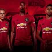 Camiseta titular del Manchester United 2019/2020   Imagen Adidas