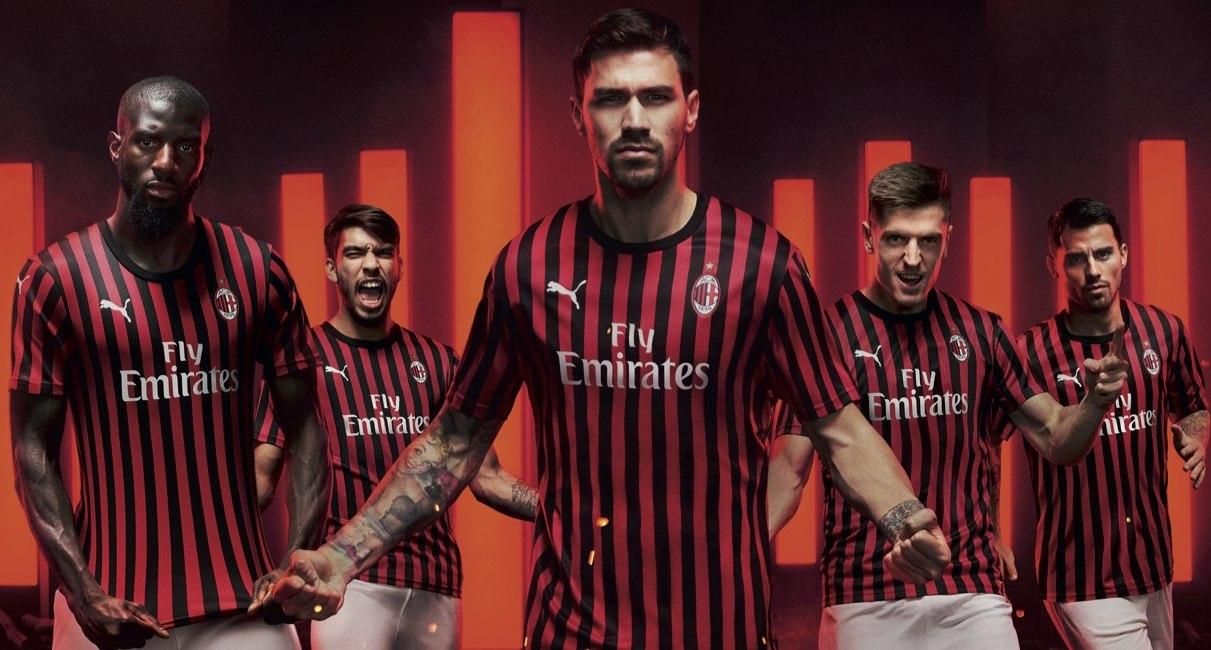 Milan (Puma) | Camisetas de la Serie A 2019-2020
