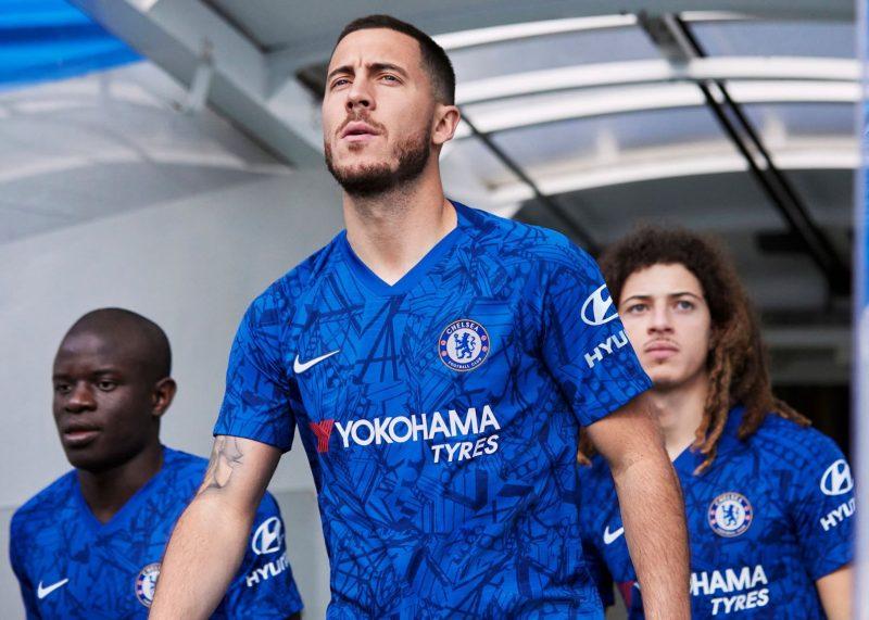 Eden Hazard con la nueva camiseta del Chelsea | Imagen Nike