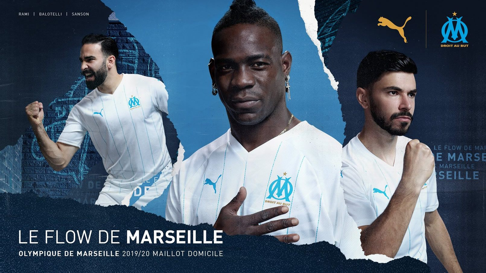 Camiseta Puma del Olympique de Marsella 2019/20 | Imagen Web Oficial