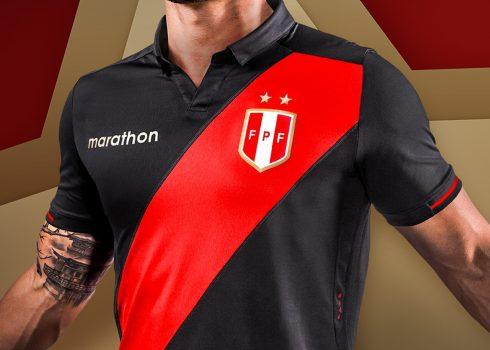 Camiseta alterna de Perú Copa América 2019 | Imagen Marathon