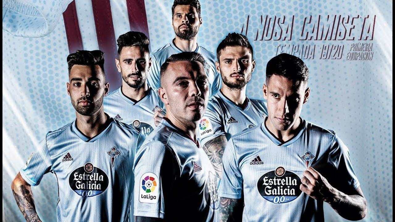 Camiseta titular Adidas del Celta 2019/20 | Imagen Web Oficial
