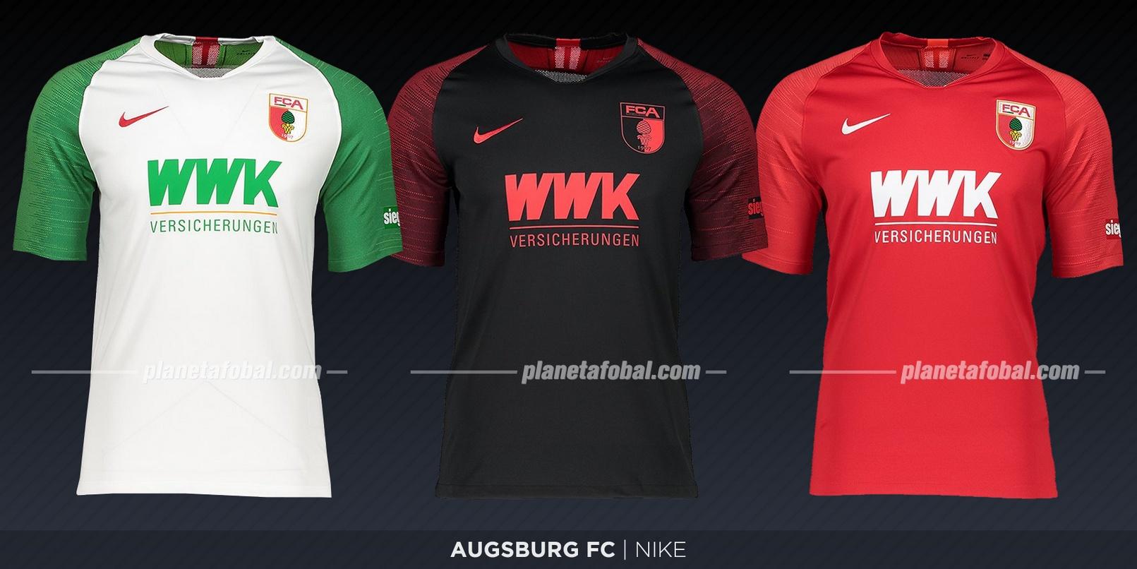 Augsburg (Nike) | Camisetas de la Bundesliga 2019-2020