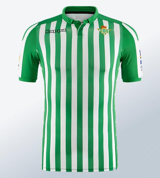 Camiseta Kappa del Betis 2019/20 | Imagen Web Oficial