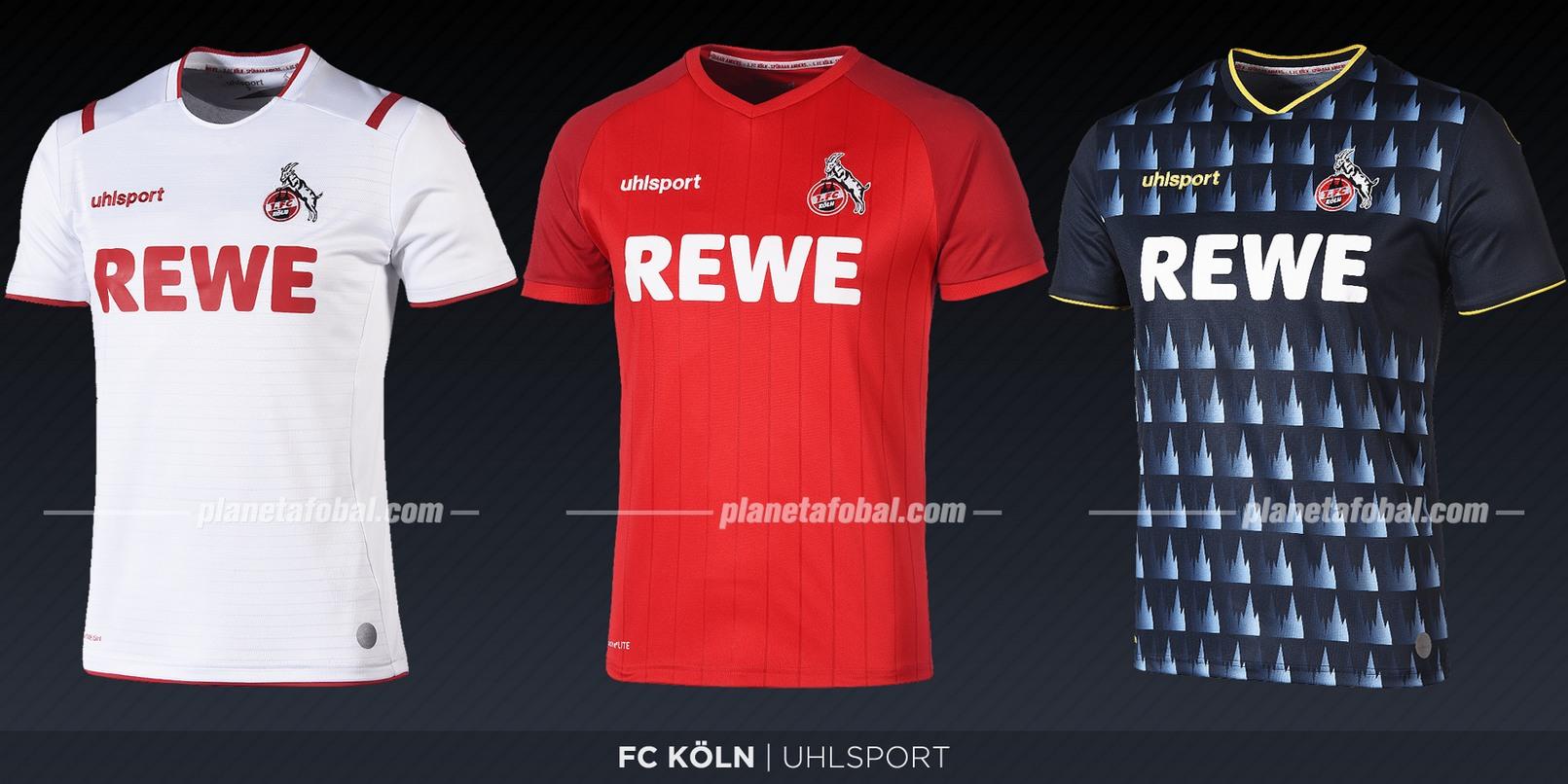 FC Köln (uhlsport) | Camisetas de la Bundesliga 2019-2020