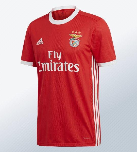 Camiseta titular del Benfica 2019/20 | Imagen Adidas