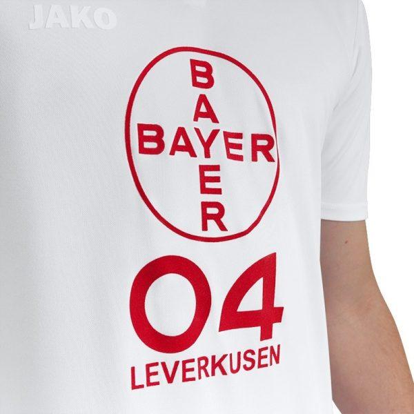 "Camiseta Jako del Bayer 04 Leverkusen ""40 Jahre Bundesliga""   Imagen Web Oficial"