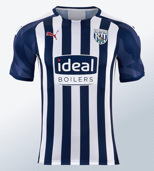 Camiseta titular Puma del West Bromwich Albion 2019/20 | Imagen Web Oficial