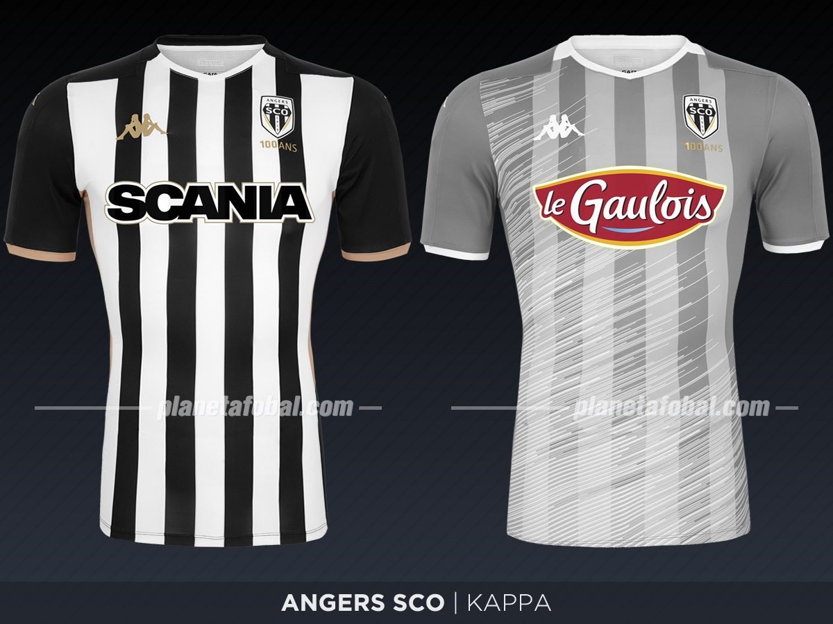 Angers SCO (Kappa) | Camisetas de la Ligue 1 2019-2020