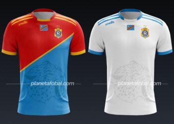 RD Congo (O'Neills) | Camisetas de la Copa Africana de Naciones 2019