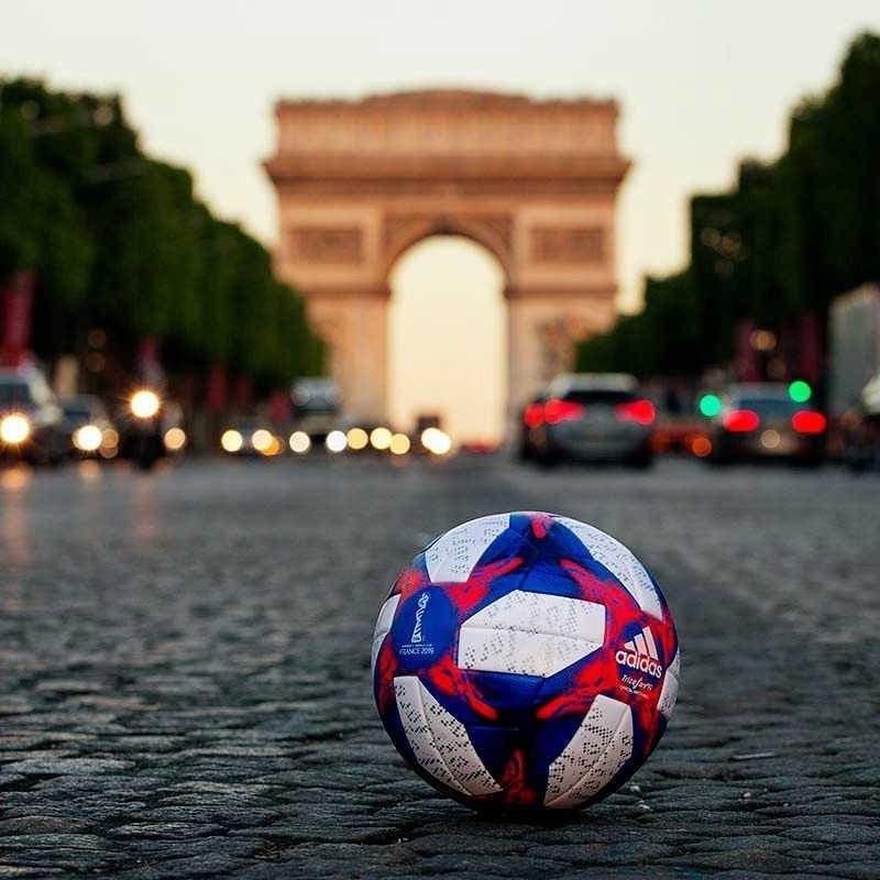 Balón Adidas Tricolore Mundial Francia 2019 | Imagen Facebook Oficial