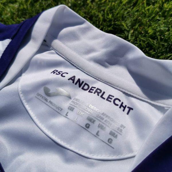 Camiseta suplente Joma del Anderlecht 2019/20 | Imagen Web Oficial