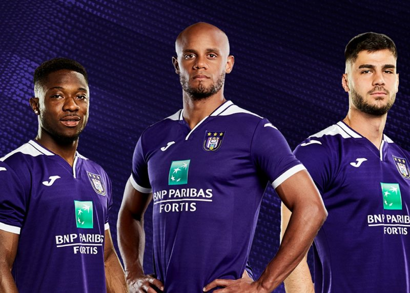 Camiseta titular Joma del Anderlecht 2019/20   Imagen Web Oficial