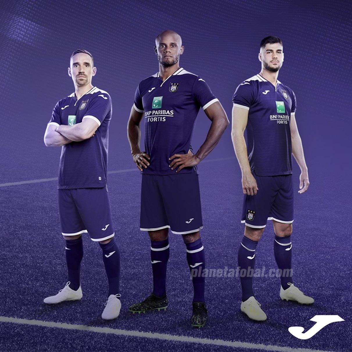 Camiseta titular Joma del Anderlecht 2019/20 | Imagen Web Oficial