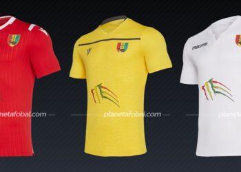 Guinea (Macron) | Camisetas de la Copa Africana de Naciones 2019