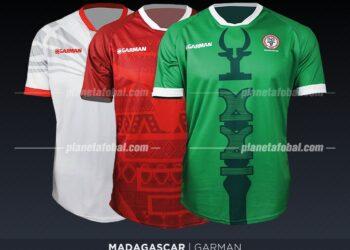 Madagascar (Garman) | Camisetas de la Copa Africana de Naciones 2019