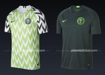 Nigeria (Nike) | Camisetas de la Copa Africana de Naciones 2019