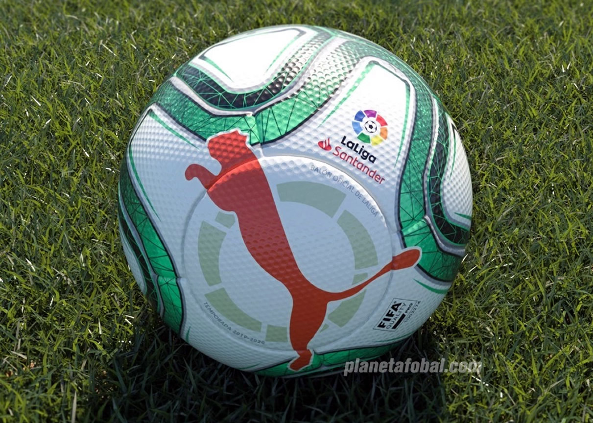 Balón Puma para LaLiga de España 2019/20 | Imagen Web Oficial