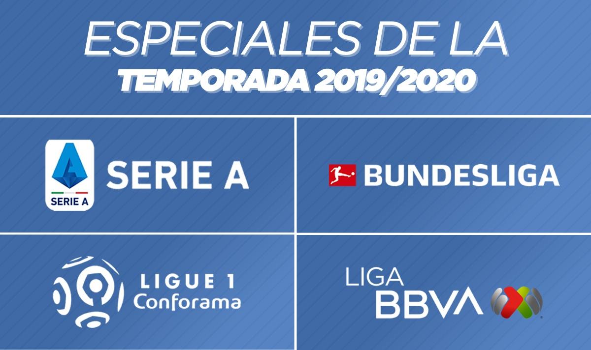 Nuevos lanzamientos de la Temporada 2019/2020