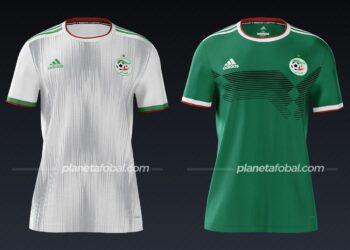 Argelia (Adidas) | Camisetas de la Copa Africana de Naciones 2019