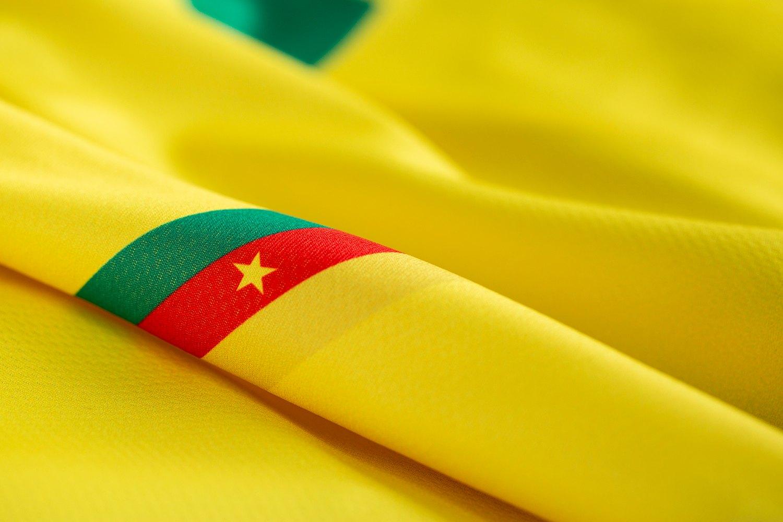 Camiseta suplente de Camerún 2019 | Imagen Le Coq Sportif