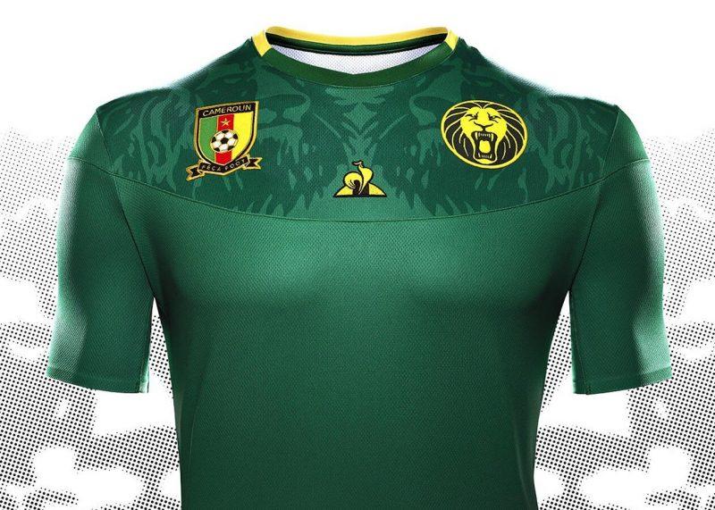Camiseta titular de Camerún 2019 | Imagen Le Coq Sportif