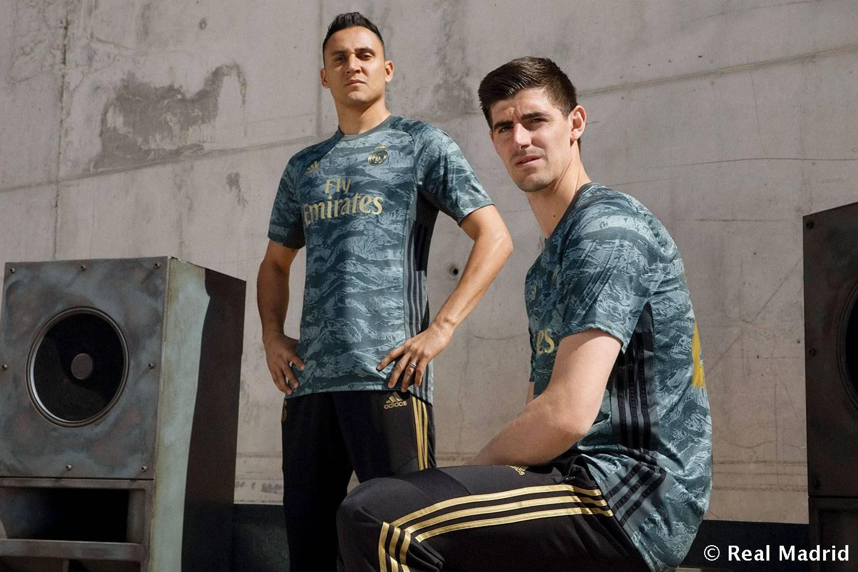 Camiseta suplente de porteros del Real Madrid 2019/2020 | Imagen Adidas