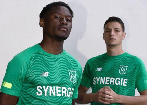 Camiseta suplente New Balance del FC Nantes 2019/20 | Imagen Web Oficial