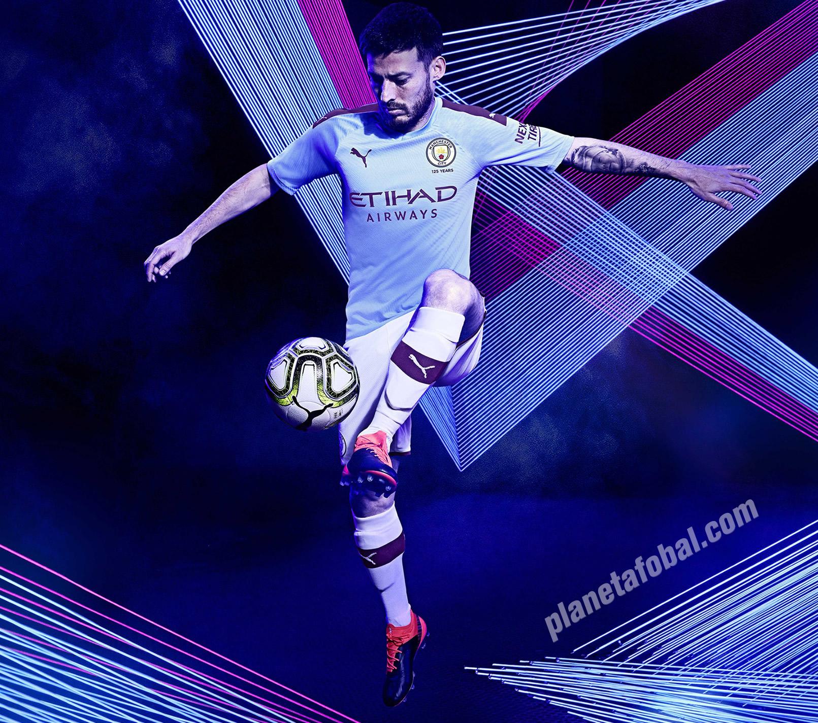 Camiseta titular del Manchester City 2019/2020 | Imagen Puma