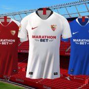 Camisetas Nike del Sevilla 2019/2020 | Imagen Web Oficial