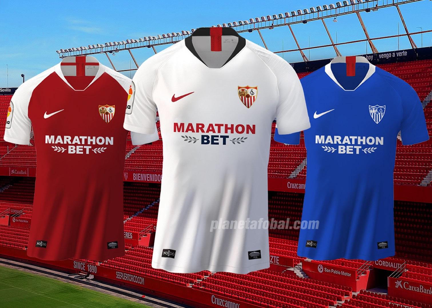 Camisetas Nike del Sevilla 20192020