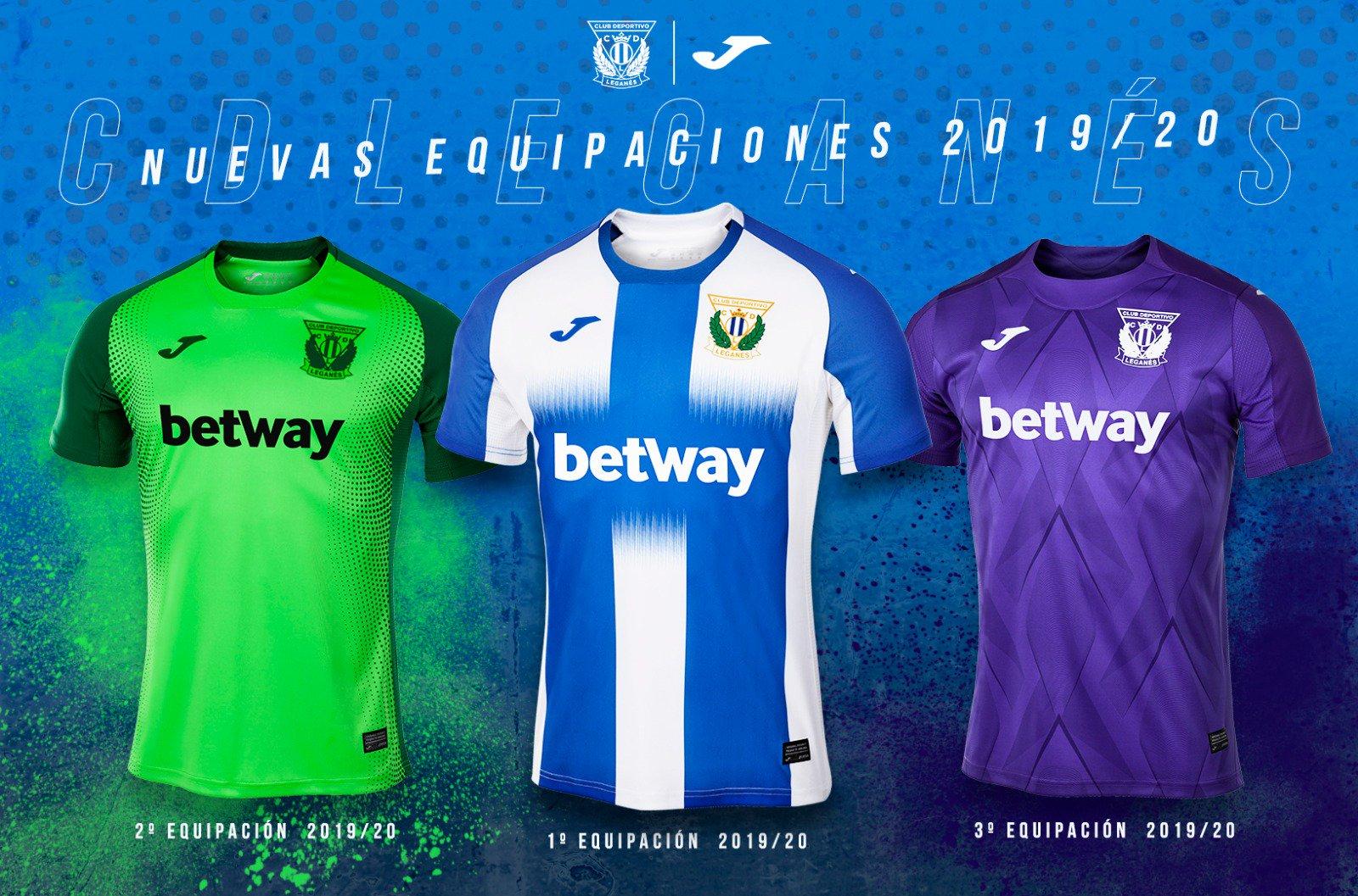 Camisetas Joma del Leganés | Imagen Twitter Oficial
