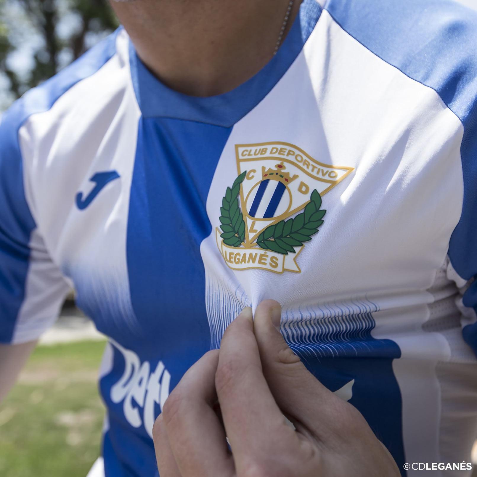 Camiseta Joma del CD Leganés 2019/20 | Imagen Web Oficial