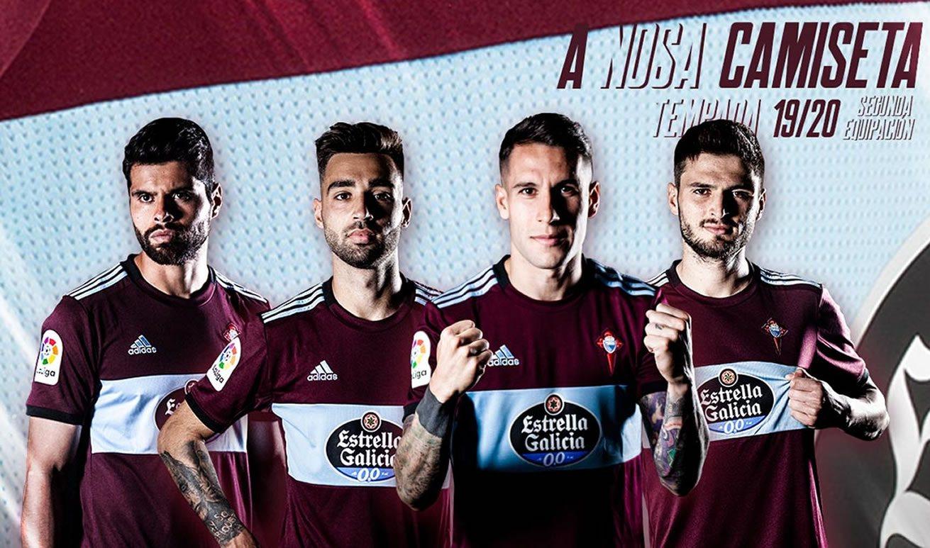 Camiseta suplente Adidas del Celta 2019/20 | Imagen Web Oficial