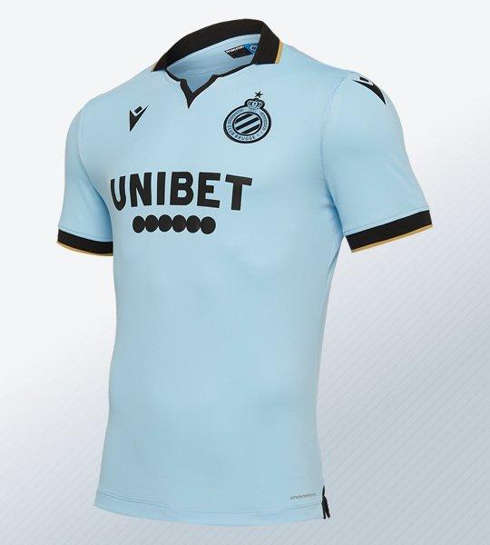 Tercera camiseta Macron del Club Brugge 2019/20 | Imagen Web Oficial