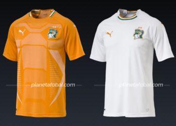 Costa de Marfil (Puma) | Camisetas de la Copa Africana de Naciones 2019