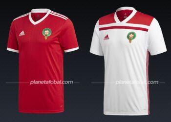 Marruecos (Adidas) | Camisetas de la Copa Africana de Naciones 2019