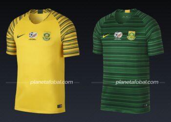 Sudáfrica (Nike) | Camisetas de la Copa Africana de Naciones 2019