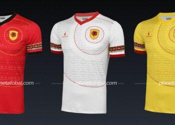 Angola (Lacatoni) | Camisetas de la Copa Africana de Naciones 2019