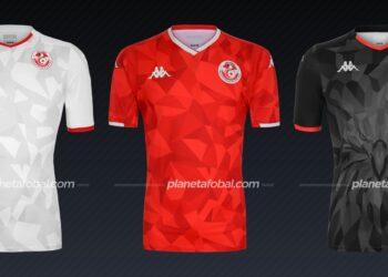 Túnez (Kappa) | Camisetas de la Copa Africana de Naciones 2019